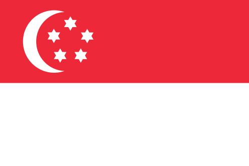 Singapore Flag judaized 2