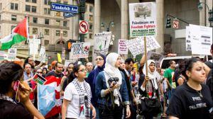 GAZA PROTEST NEW YORK